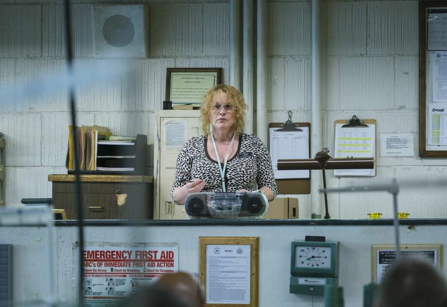 "Patricia Arquette as Tilly in ""Escape at Dannemora"" (Episode 2). Photo: Chris Saunders/SHOWTIME"