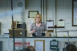 """Patricia Arquette as Tilly in """"Escape at Dannemora"""" (Episode 2)."""