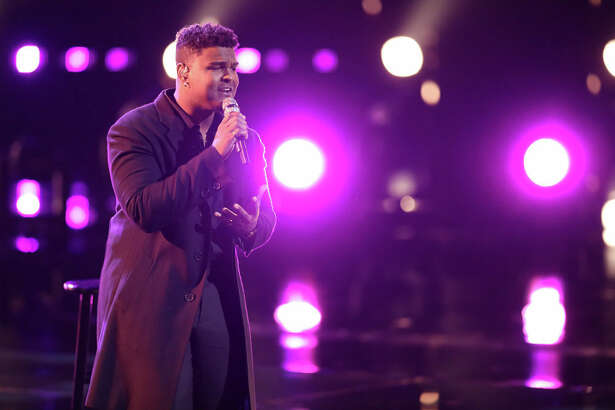 Port Arthur's DeAndre Nico on The Voice live shows.
