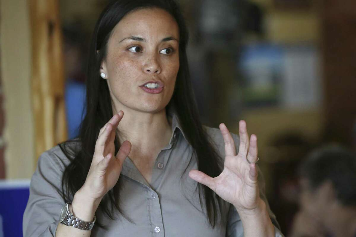 Gina Ortiz Jones' race with Will Hurd in Congressional District 23 is one of a handful across the U.S. that are still undecided.