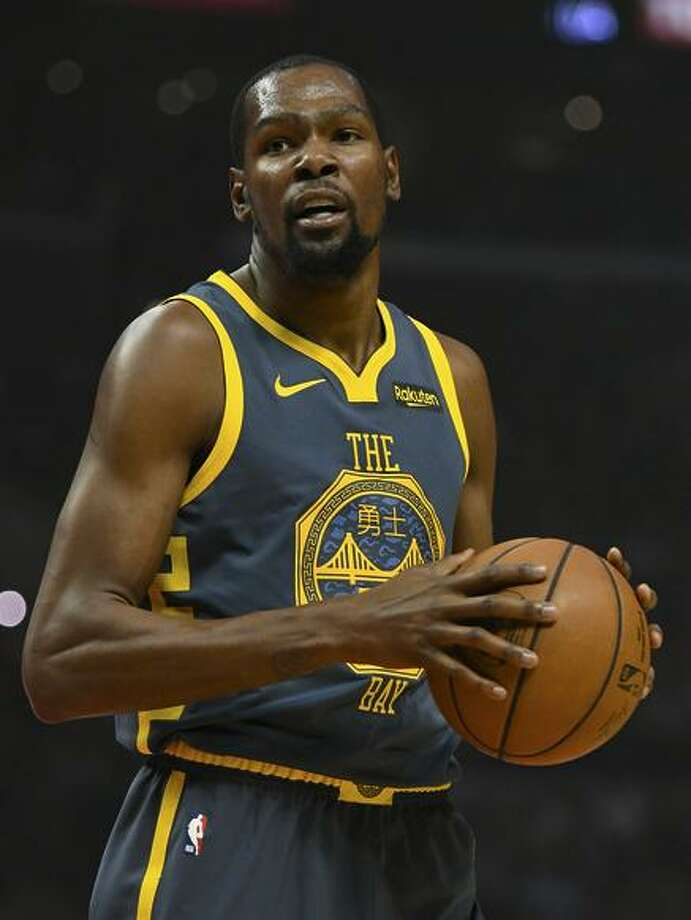 Kevin Durant: 33 points, 11 rebounds, 11 assists, his first triple-double this season. Photo: Robert Laberge / Getty Images / 2018 Getty Images