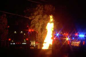 The pipeline exploded at about 1:30 a.m., Nov. 13, 2018, near the intersection of Martinez Losoya Road and Farm-to-Market Road 1937.