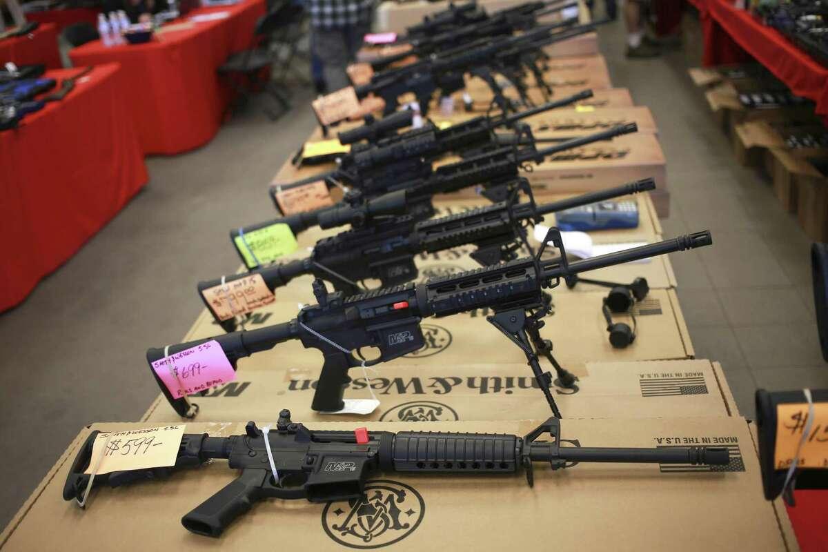 Matt Boggs, owner of Alpha Dog Firearms in Tempe, Ariz. said his