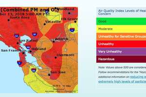 Nearly 90 percent of schools in Sonoma County were closed Tuesday due to poor air quality in the Bay Area, officials said.
