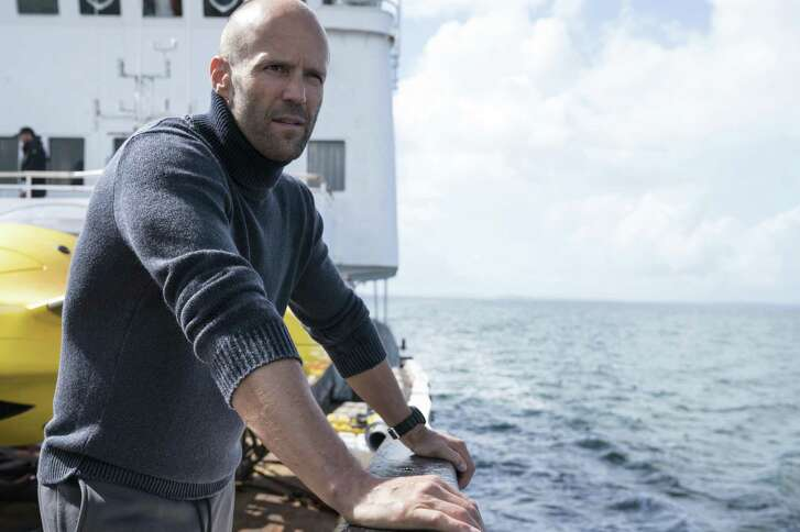 Man vs. Meg: Jason Statham is on the lookout for a giant prehistoric shark.