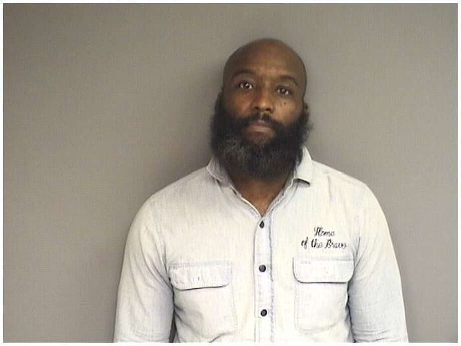 Laron Webster, 41, of Bridgeport, was charged with being in possession of PCP with intent to sell. Photo: Stamford Police / Contributed