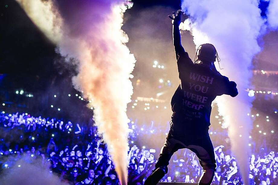 Travis Scott brings his Astroworld Festival to NRG Park beginning Saturday.