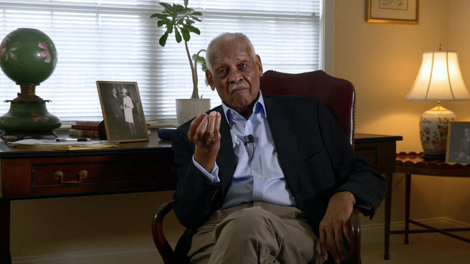 "Civil rights lawyer Peter Pryor interviewed for      documentary  ""More Than Words."" Photo: Photo Provided By Mary Paley"