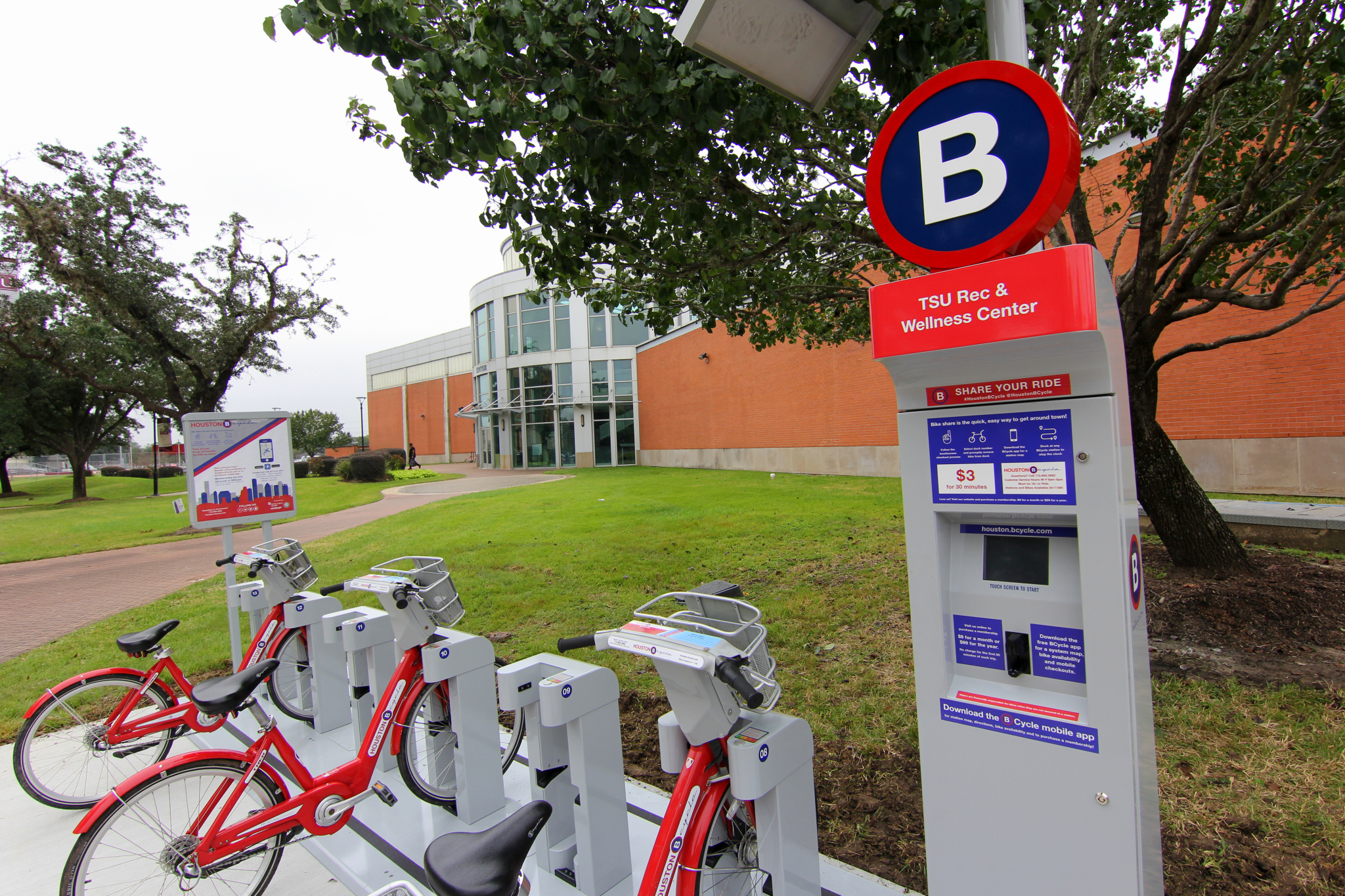 Houston Bcycle Expands Into Texas Southern University