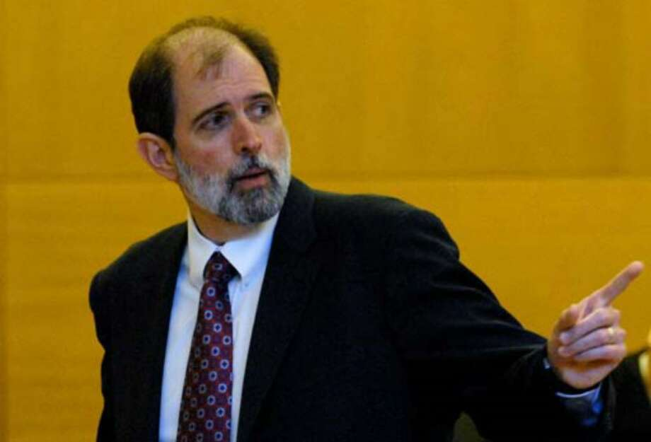 Albany County Chief Assistant District Attorney Michael P. McDermott delivers his closing statement at the Orange County Courthouse in Goshen, Wednesday, August 9, 2006. Photo: Michael P. Farrell