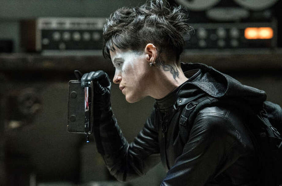 "This image released by Sony Pictures shows Claire Foy in a scene from ""The Girl in the Spider's Web."" Photo: Reiner Bajo/Sony Pictures Via AP"