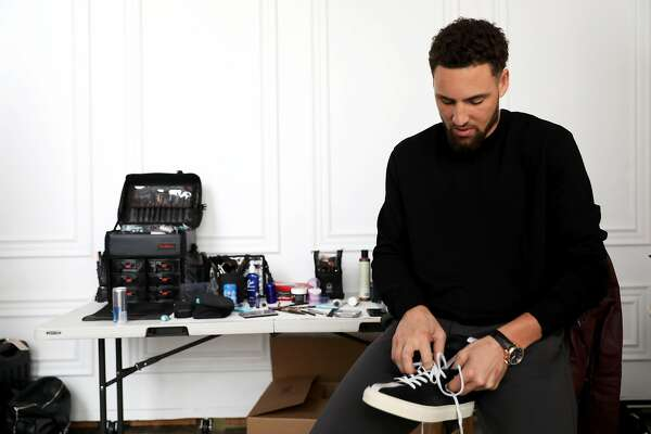 meet d4690 c5bde Six questions for Klay Thompson on his style, beard and ...