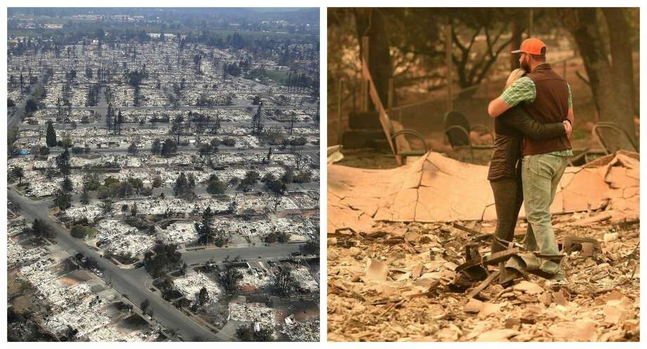 Camp Fire vs. Tubbs Fire: The two most destructive fires in California history