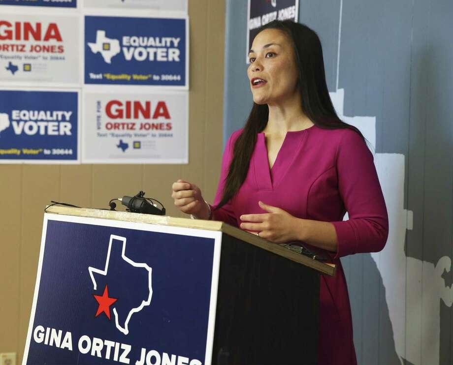 Gina Ortiz Jones has conceded her bid to unseat incumbent Republican Will Hurd in Congressional District 23. Photo: Tom Reel /Staff Photographer / 2017 SAN ANTONIO EXPRESS-NEWS