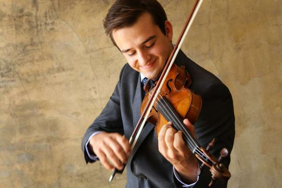 Up-and-coming international violinist William Hagen, 24, will perform this weekend with The Greenwich Symphony Orchestra. In concerts at 8 p.m. Saturday and 4 p.m. Sunday at Greenwich High, Hagen will play Mendelssohn's Violin Concerto. For information or tickets, call 203-869-2664 or visit www.greenwichsymphony.org. Photo: Contributed /