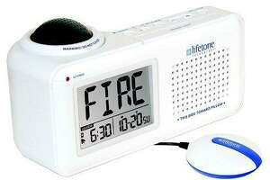 Lifetone Technology is recalling about 10,000 bedside fire alarm and clocks because the product can fail to operate and fully alert consumers to a fire.
