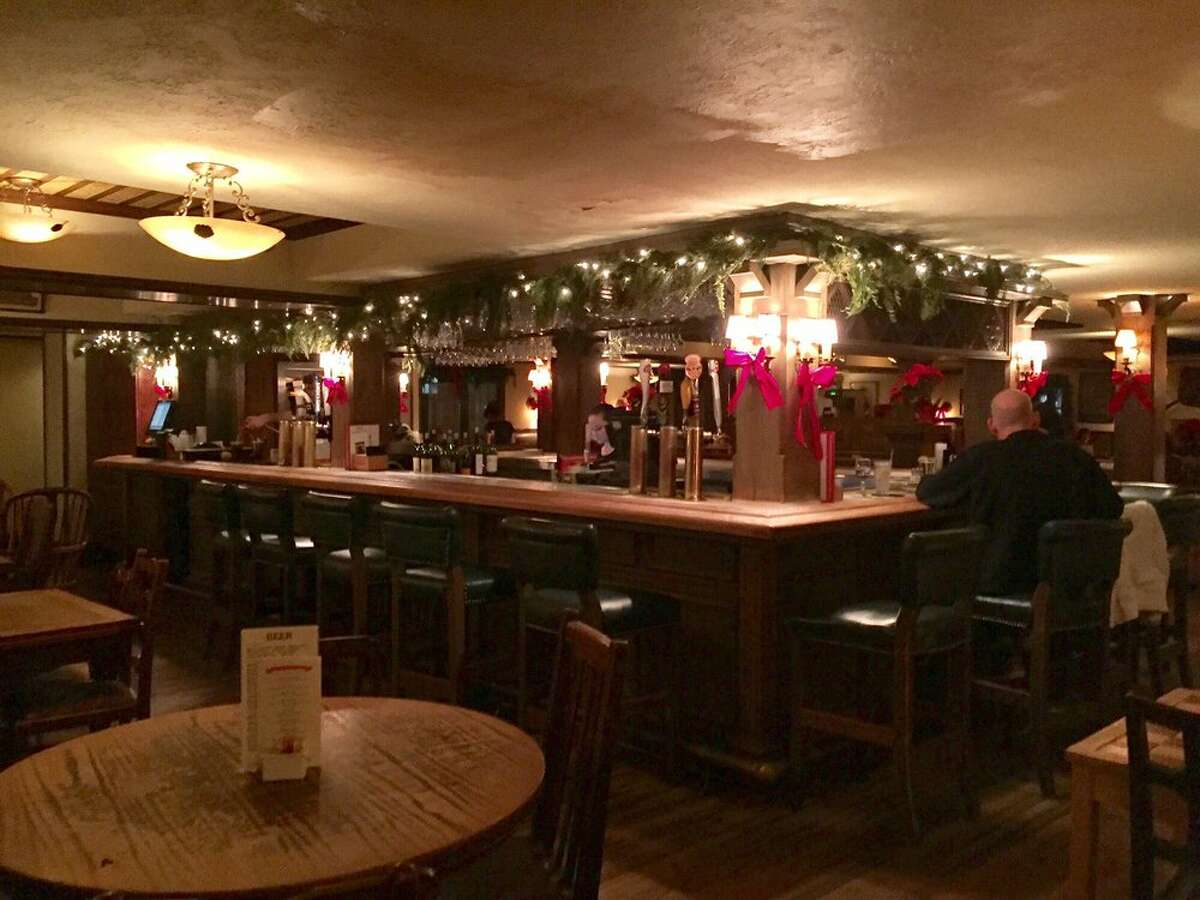 The Black Labrador Montrose Why it's great:One of the top English pubs in the city, The Black Labrador is decked out with snug-looking furniture, low ceilings, seasonal decorations, and of course, a fireplace. Photo:Yelp/Curtis K.