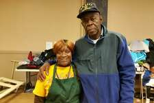 In 2017, Marie Mackey and Clarence Lucky volunteered at a pasta lunch and coat giveaway in Torrington during the third annual Rally Day to End Hunger and Homelessness in Northwest Connecticut. The rally day will be held again on Saturday.