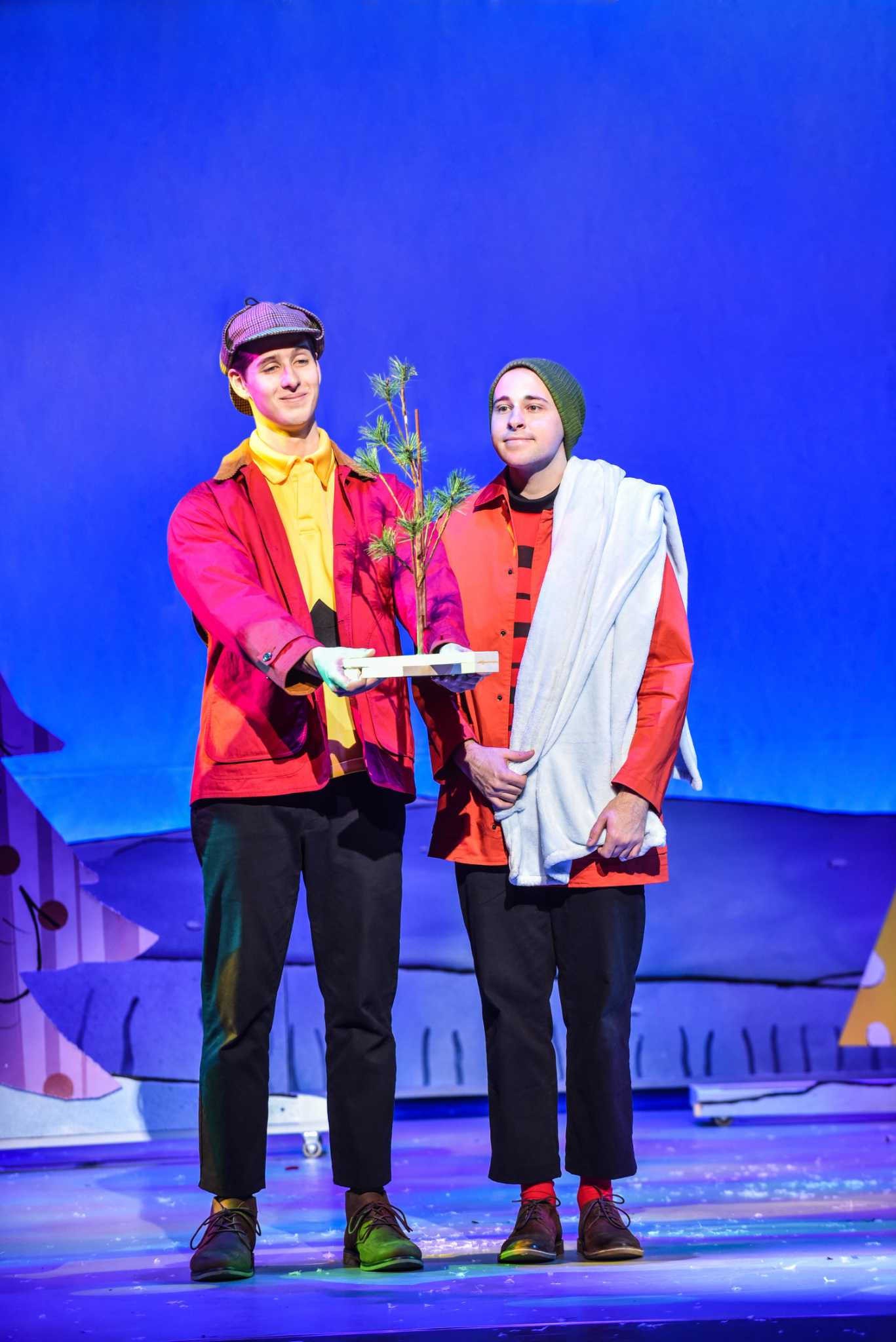 A Charlie Brown Christmas Live On Stage.A Charlie Brown Christmas Live On Stage At Shubert In New