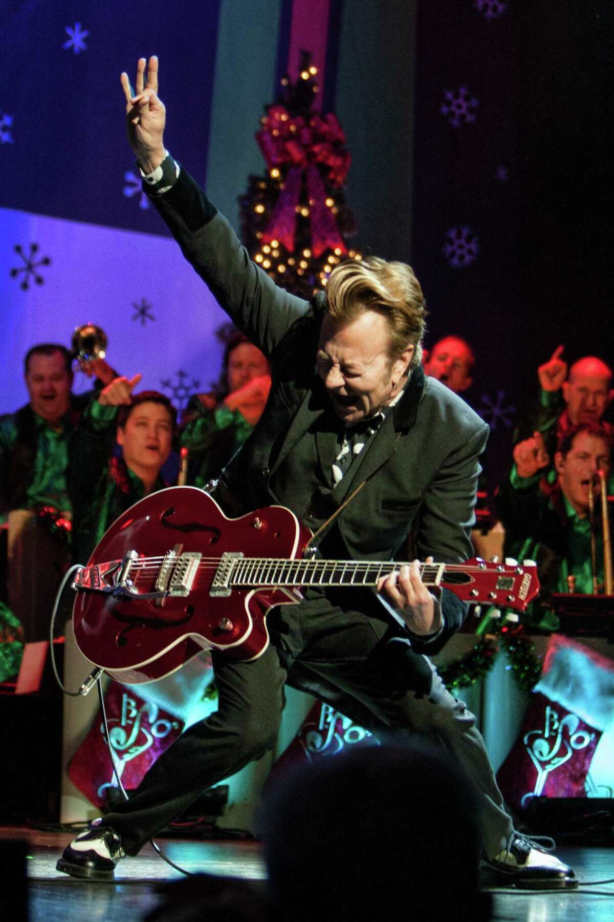 Brian Setzer puts a lively touch on another holiday tune.
