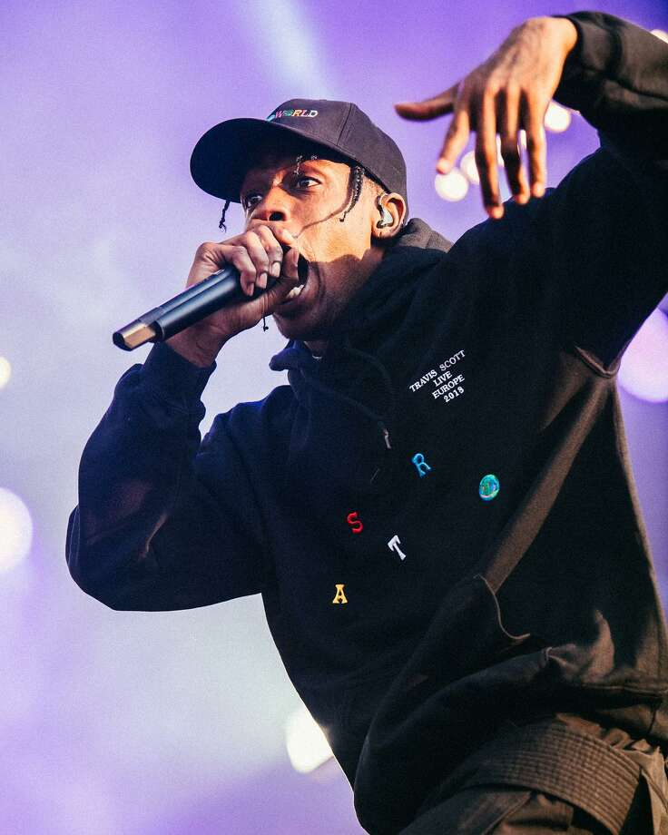 Rap superstar Travis Scott hosted the inaugural Astroworld Festival at NRG Park in Houston on Nov. 17, 2018. Photo: Courtesy / Courtesy