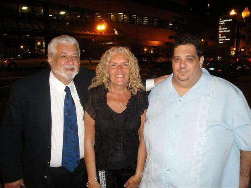 Mike Urgo, his wife, Toni and his son