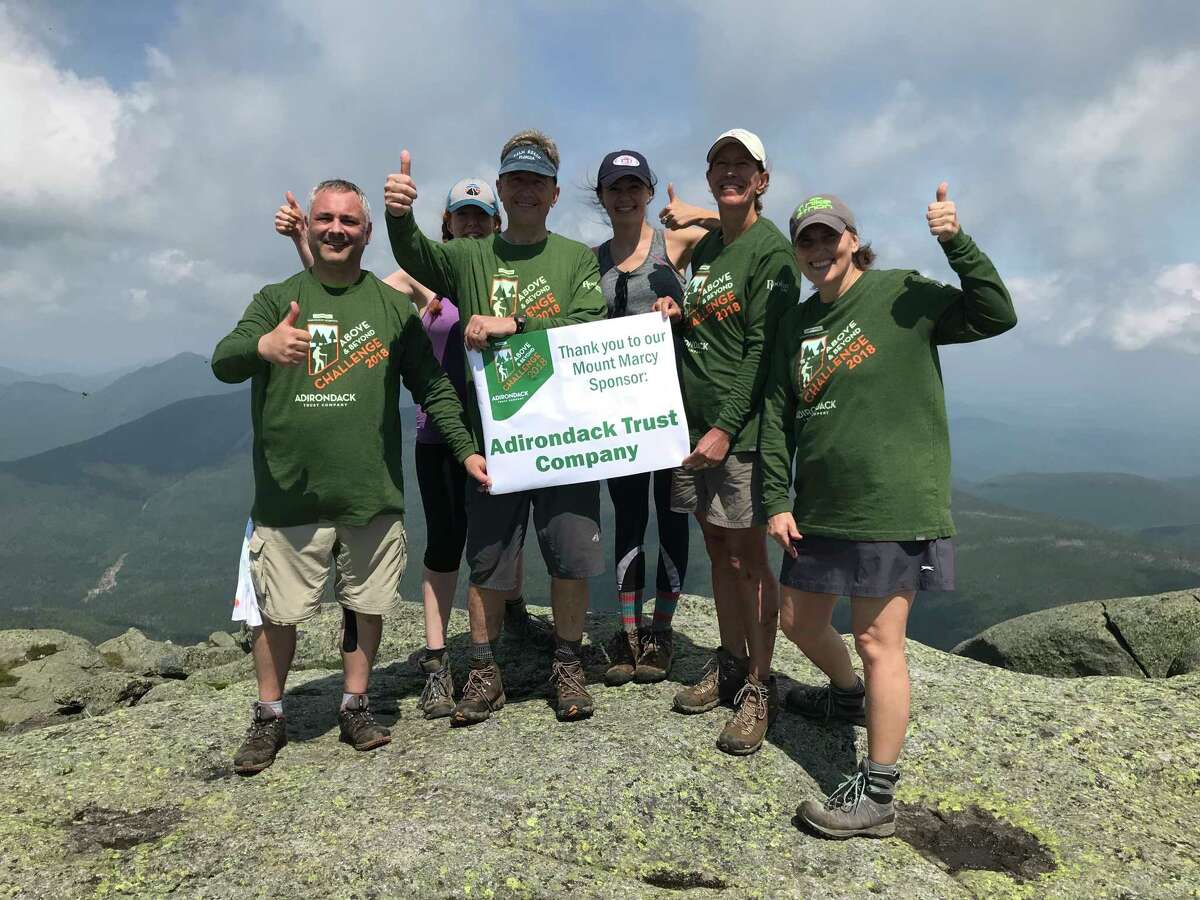 Above and Beyond Challenge sponsored by Adirondack Trust Company