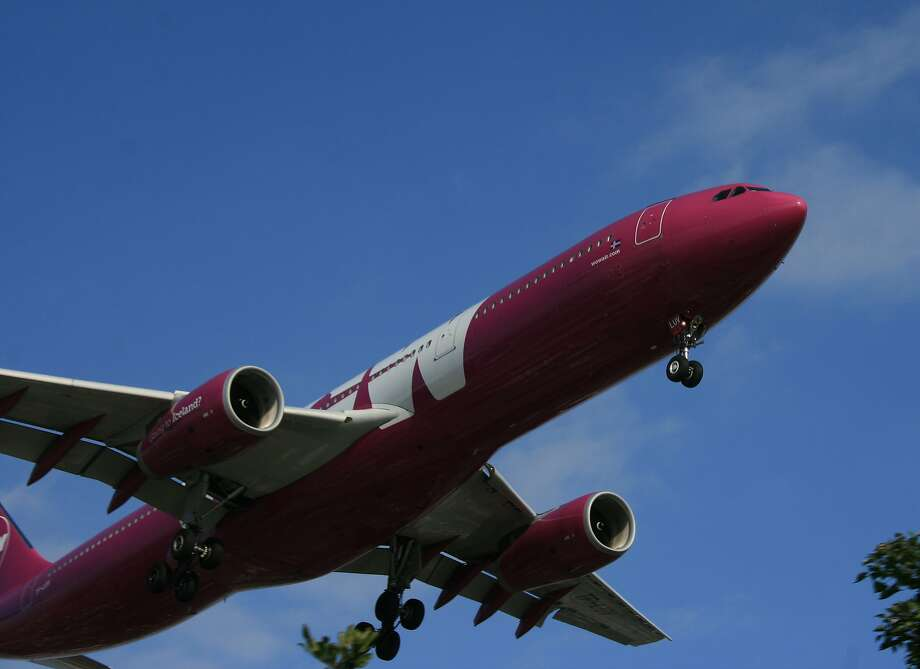 Without its wide- body A330s, low-cost WOW Air is losing its California routes. Photo: Bill Montgomery, Houston Chronicle