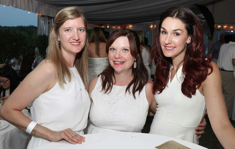 Saratoga Springs, NY - July 22, 2017 - (Photo by Joe Putrock/Special to the Times Union) - (l to r) Lora Ragazzo, Angela Knapp and Amber Sears during the White Party, a benefit for Saratoga Bridges, held at Saratoga National Golf Club in Saratoga Springs. ORG XMIT: 08 Photo: Joe Putrock / Joe Putrock