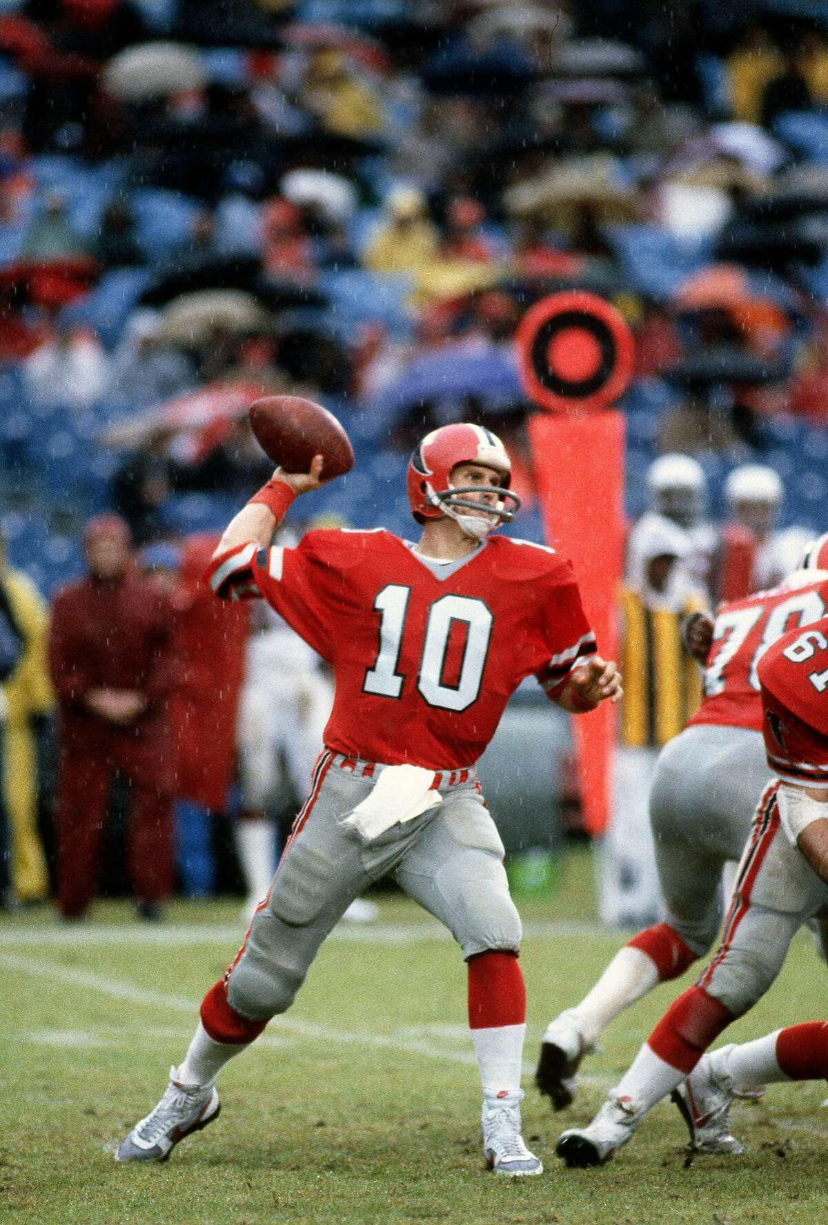 Steve Bartkowski: Emil R. Buchser High School (Santa Clara) - Class of 1971 Bartkowski started 121 games at quarterback for the Falcons from 1975-85 and was named to two Pro Bowls.