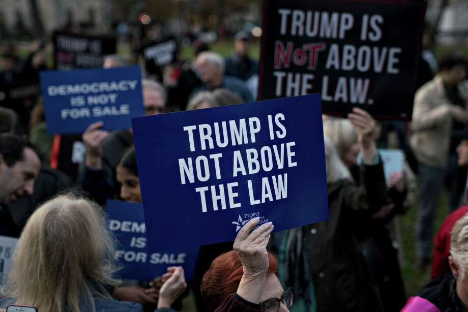 Acting Attorney General Matthew Whitaker's has sparked protests by those who fear he will interfere with the special counsel's investigation. Maybe he was appointed for another reason. Photo: Andrew Harrer /Bloomberg / © 2018 Bloomberg Finance LP