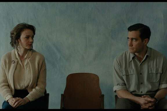 "Carey Mulligan as Jeanette Brinson, and Jake Gyllenhaal as Jerry Brinson in Paul Dano's ""Wildlife."" Mulligan and Dano will appear at the Mill Valley Film Festival along with the movie on Oct. 5."