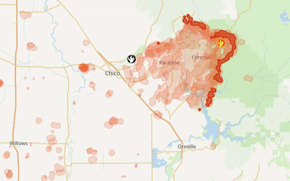 California Fire Tracker: Wildfire map for Northern, Central ... on hot springs tulare county california, murrieta california map, northern nevada map, hot springs philippines, hot springs palm springs ca, hot springs cabins, windsor northern california map, hot springs taiwan, eureka northern california map, pacific crest trail northern california map, deep creek hot springs california map, mercy hot springs california map, hot springs people, hot springs in california, desert springs california map, california state map, hot springs sierra nevada, southern california map, hwy 1 northern california map,