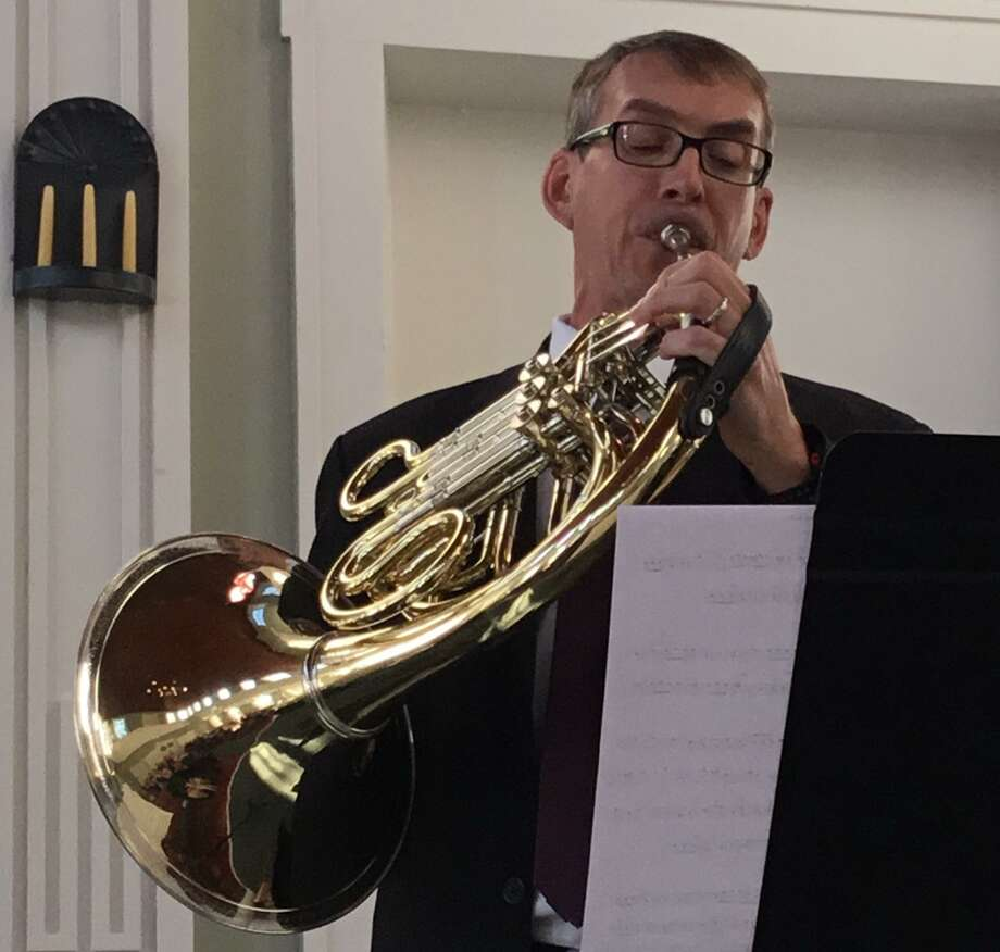 Members of the Community Music School faculty come together to perform an array of chamber music and other works, Nov. 18, 3 p.m. at the Centerbrook Meetinghouse, 51 Main Street, Centerbrook, including French horn player Nathan Pawelek. Photo: /