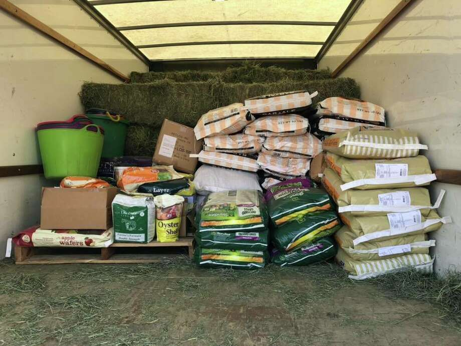 A load of donations Barbara Hallford, a Sonoma fire survivor, delivered to Butte County this week. Photo: Courtesy: Barbara Hallford