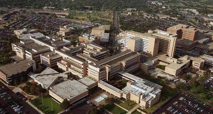 San Antonio's health care and bioscience industry accounted for $40.2 billion in sales of products and services and employed more than 1 in 6 of the metro area's workers in 2017, according to a study released Tuesday by the San Antonio Chamber of Commerce. Shown is the Medical Center area in Northwest San Antonio.