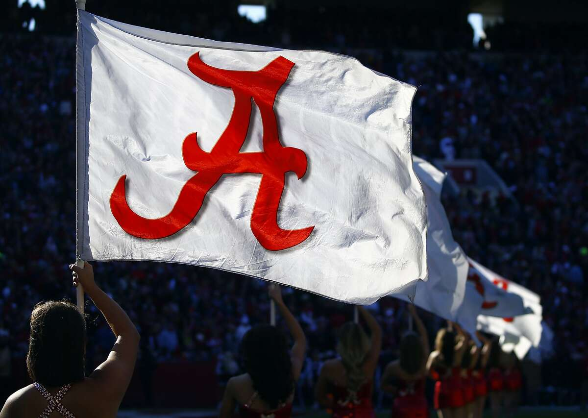 Alabama's Million Dollar band performs before the start of an NCAA college football game against Mississippi State, Saturday, Nov. 10, 2018, in Tuscaloosa, Ala. (AP Photo/Butch Dill)