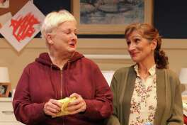 """Peggy Cosgrove, left, and Marina Re appear in Seven Angels Theater's production of """"Ripcord."""""""