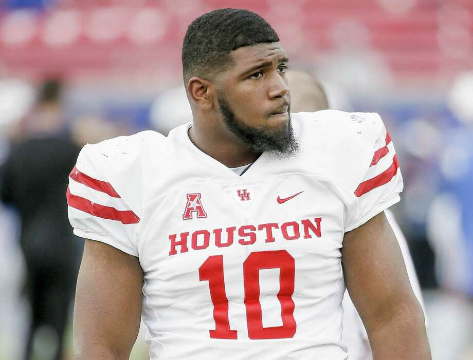 UH's Ed Oliver is still projected as a first-round pick, but opinions vary as to when he'll be picked. Photo: Brandon Wade, FRE / Associated Press / Copyright 2018 The Associated Press. All rights reserved.