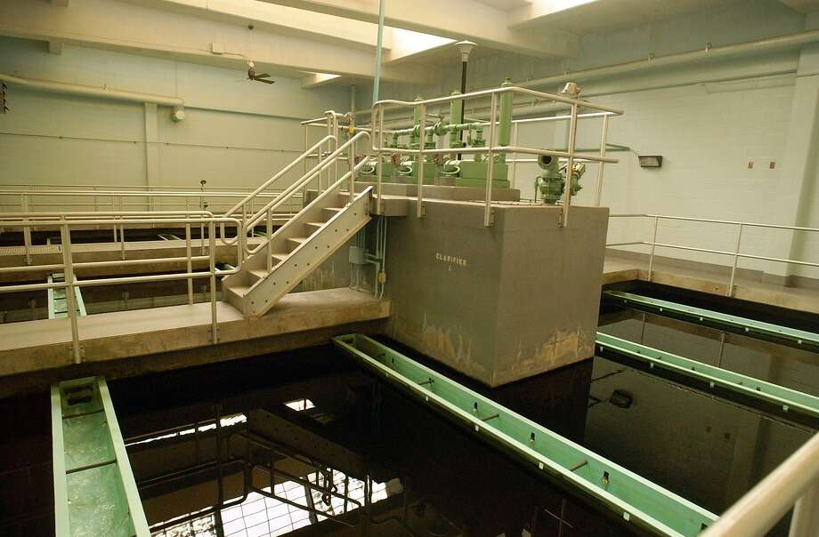 A 2004 file photo shows the MacKenzie Water Treatment Plant in Clinton, owned by Connecticut Water Co. Photo: Aaron Flaum /Hearst Connecticut Media