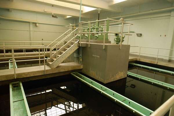 A 2004 file photo shows the MacKenzie Water Treatment Plant in Clinton, owned by Connecticut Water Co.