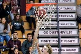 Brent Finn scored a game-high 21 points leading the Dustdevils to a season-opening 67-55 victory over Southwestern Adventist on Tuesday afternoon.