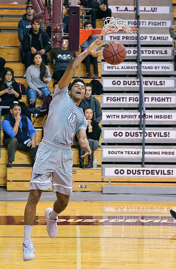 Xabier Gomez had 17 points with three assists, three rebounds and three steals as TAMIU lost 57-42 at Texas A&M-Kingsville. Photo: Cuate Santos /Laredo Morning Times
