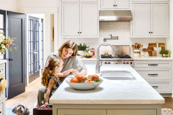 An Expensive Kitchen Remodel It seems counterintuitive, but a state-of-the-art kitchen might not be worth the dollars you put into it if everyone in your neighborhood still has their original setup. So how do you know when to go for broke and when to settle for a few minor changes? If you're going to stay in your home for 5-10 years, you might see the market in your 'hood grow enough to get a good return on your investment. A real estate agent can help with gauging sales figures and comparable properties. But if not, a few small changes can make a kitchen much more livable.