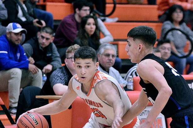 Andy Pompa was United's leading scorer for the second straight game with 14 points in Tuesday's 63-53 win at home over Edinburg Vela.