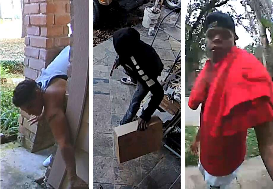"Investigators with Harris County Precinct 5 Constable Ted Heap's office are on the lookout for ""porch pirates."" Photo: Ring"