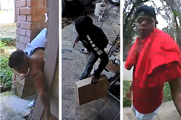 Recent Houston area package-stealing suspects