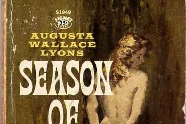 """The cover of the 1961 novel """"Season of Desire."""""""