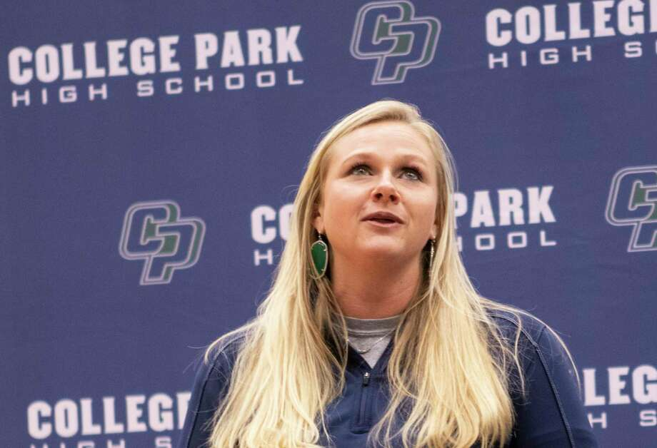 College Park coach Meredith Cook is looking to lead the Lady Cavaliers back to the playoffs following a two-year hiatus. Photo: Cody Bahn, Houston Chronicle / Staff Photographer / © 2018 Houston Chronicle