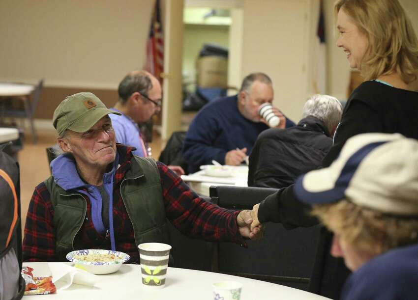 People from the wealthiest 25 percent of towns typically spent more time in shelters - 71 days - compared with 52 and 59 days, respectively, for people from the middle 50 percent of towns and the poorest 25 percent of towns. - Connecticut Coalition to End Homelessness